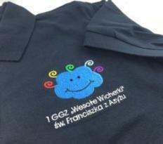 Koszulki polo z haftem dla drużyny ZHR