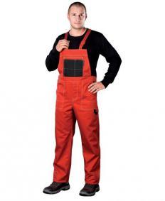 Spodnie robocze z haftowanym logo