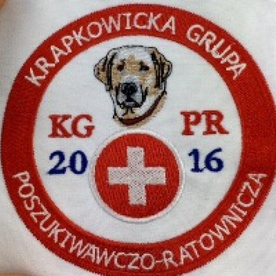 Czapki z haftem i plakietki dla KGPR