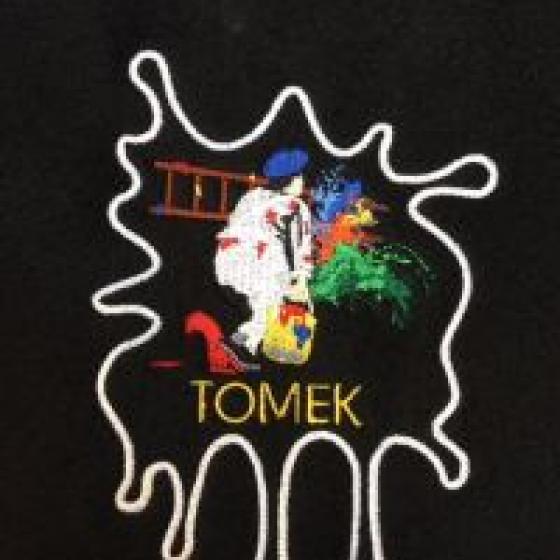 Kombinezony robocze z haftem dla ekipy malarskiej