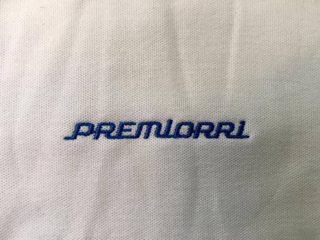 Koszulka typu polo z haftem komputerowym