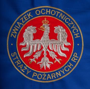 Haftowany logotyp